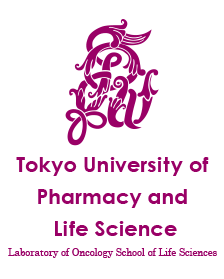 Laboratory of Oncology School of Life Sciences Tokyo University of Pharmacy and Life Sciences|Official Web Site